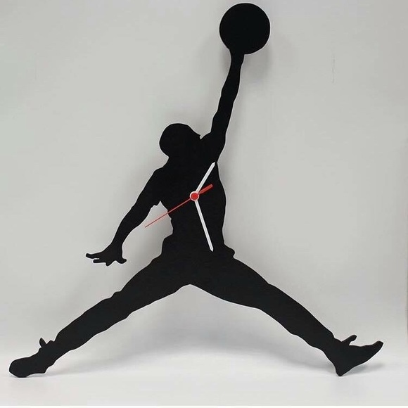 Jordan Shoes Jumpman Wall Clock Poshmark